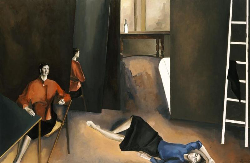 "Konstantinos Vyzantios, ""Figures"", 1985"